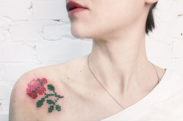 Новый тренд в татуировках, к…