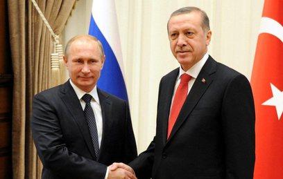 Путин и Эрдоган обсудили совместные проекты в сфере энергетики
