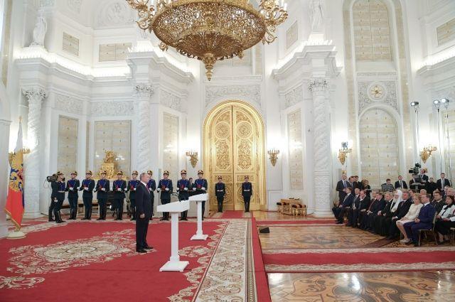 Путин вручил государственные премии за 2017 год