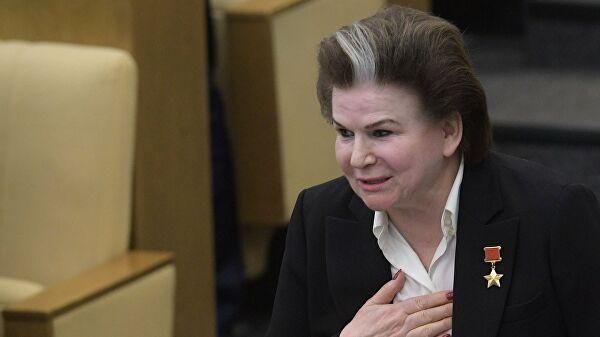 Терешкова сделала прививку от коронавируса Лента новостей