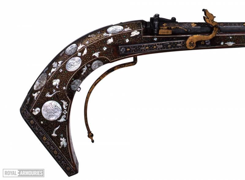 Самый ранний огнестрел: пули погуще оружие