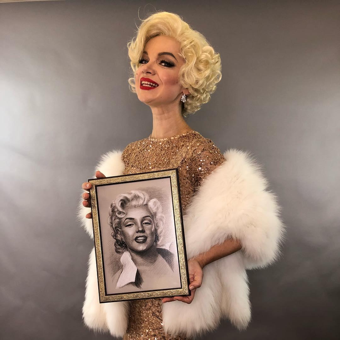 Виталина Цымбалюк-Романовская расцвела после психиатрической клиники, став копией Мэрилин Монро виталина цымбалюк