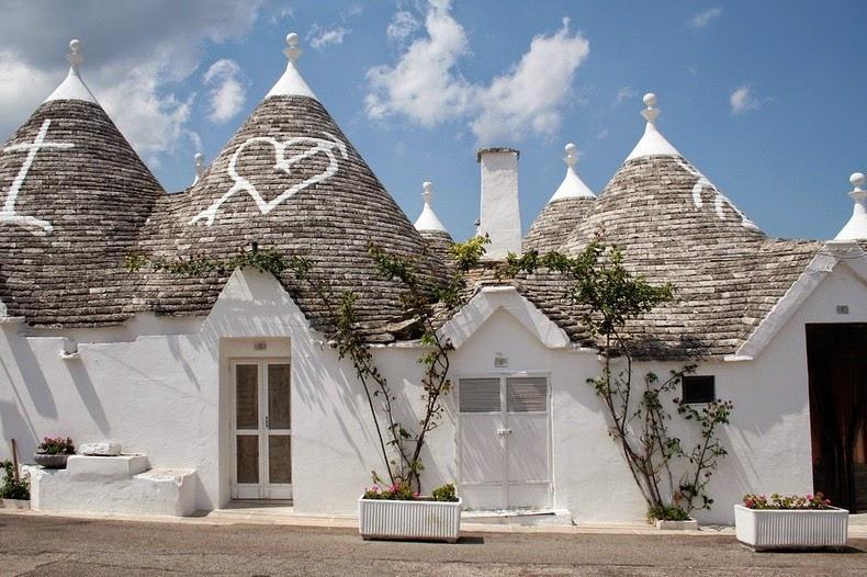 Дома Трулли в Альберобелло
