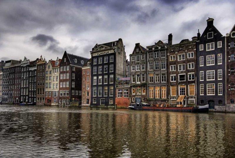 7. Амстердам города, европа, красивые, самые