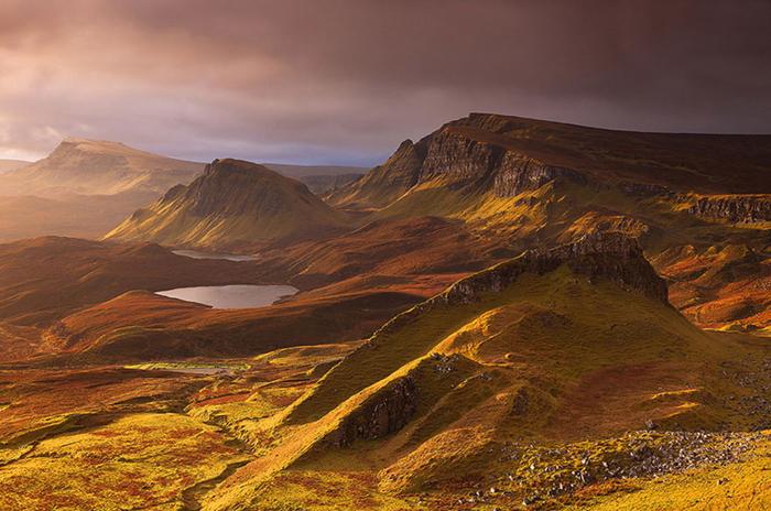 Потрясающая красота природы Шотландии.
