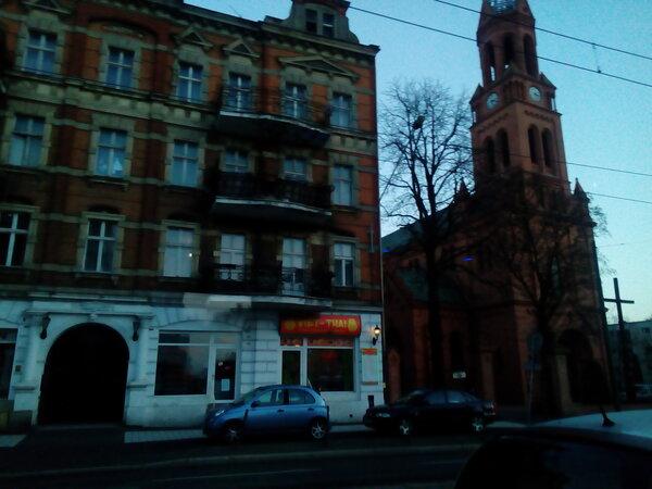 В Польше красивая