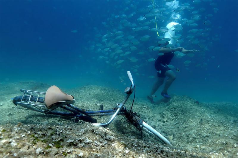 Прогулка по хорватскому подводному парку