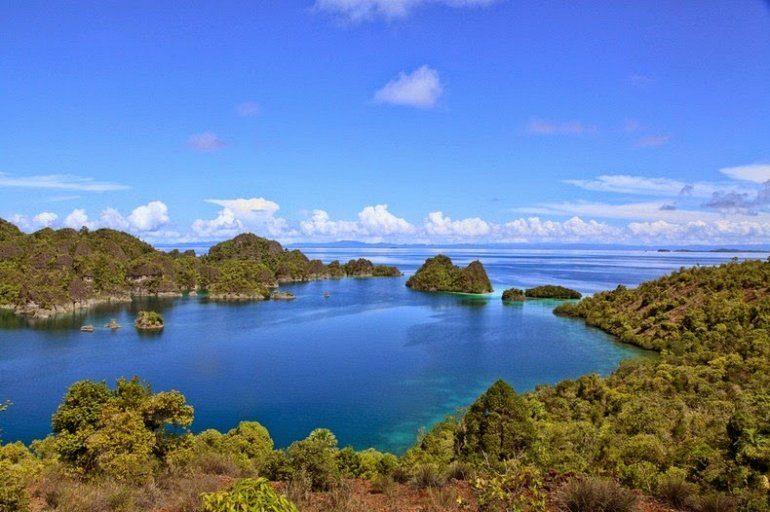 Архипелаг Раджа-Ампат (Четыре Короля) Ампат, Раджа, острова, Четыре, области, островов, очень, небольшой, разновидностей, видов, находится, Малуку, которая, стали, Индонезии, рифов, также, зарегистрированных, мифологии, местной