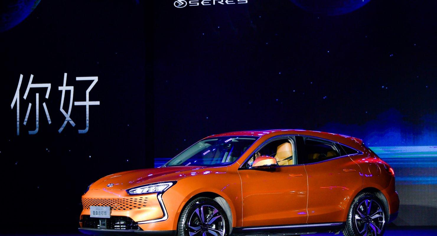 Представлен гибридный автомобиль производства Cyrus и Huawei Автомобили