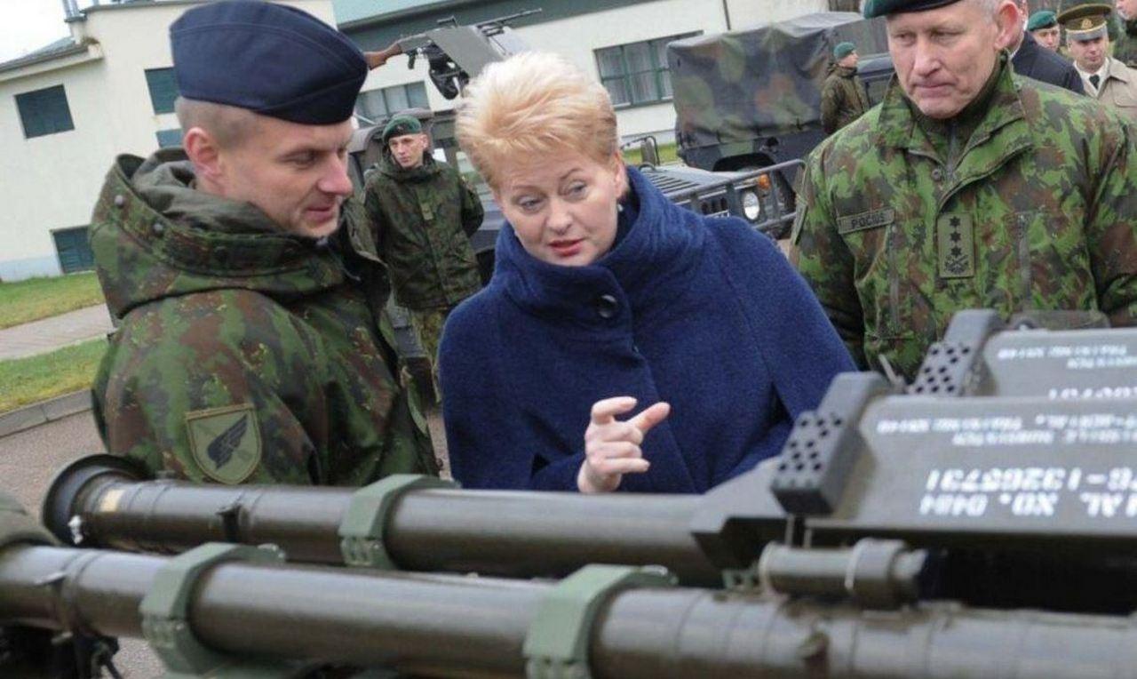 У Дали свои печали. Президент Литвы решила, что пора и о душе подумать