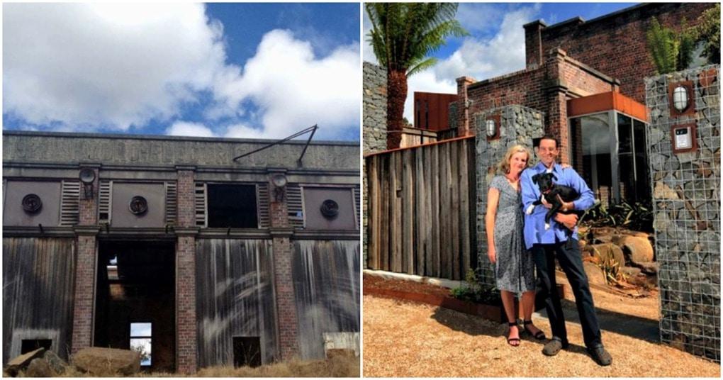 Пара превратила электрическую подстанцию в дом своей мечты