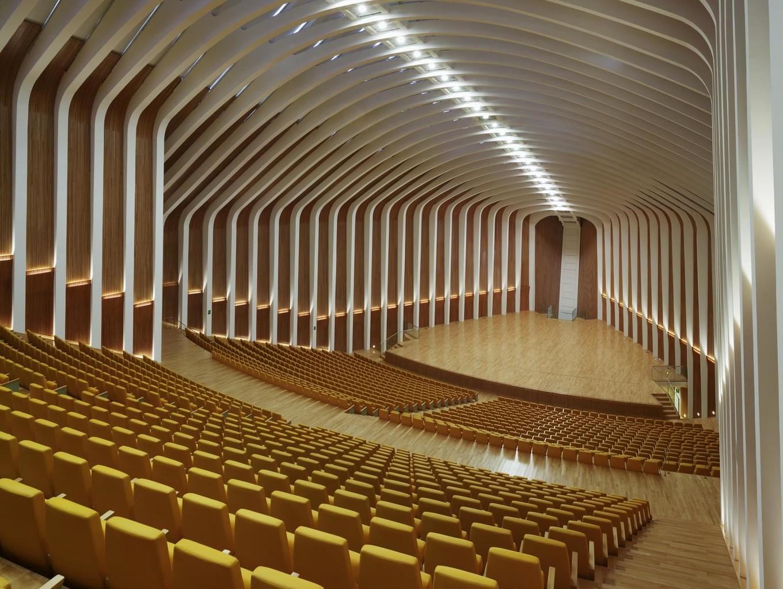 Необыкновенная архитектура оперного театра Валенсии