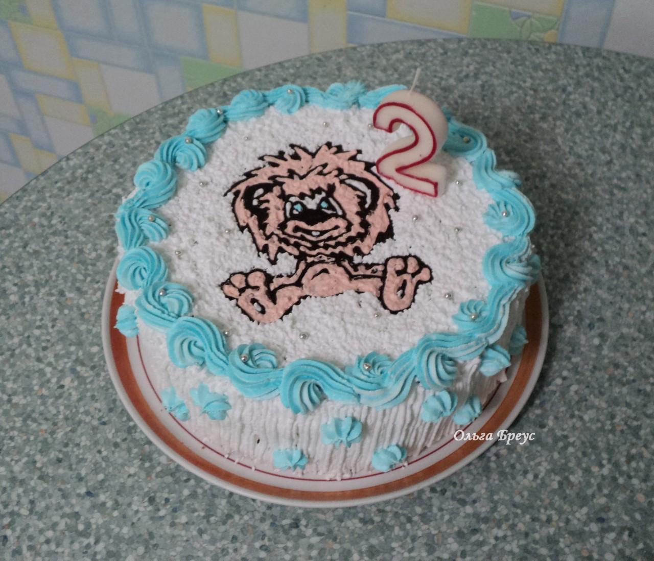Еще один детский тортик - 2
