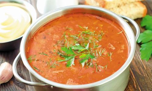 Как приготовить томатный суп…