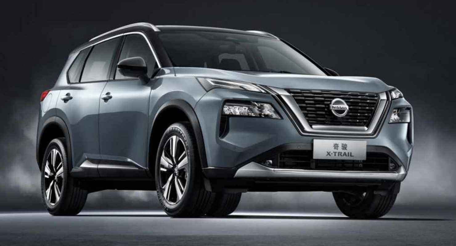 Новый кроссовер Nissan X-Trail 2022 дебютировал на Шанхайском автосалоне Автомобили