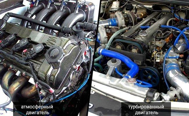 Турбированный или атмосферный двигатель. Что лучше и надежнее? авто, истории, факты