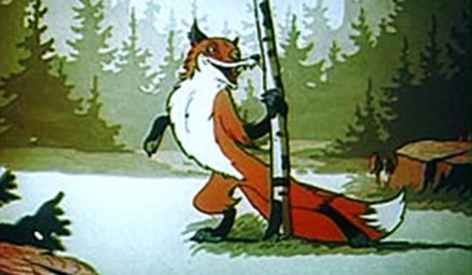 В Прикамье лисица ограбила рыбака