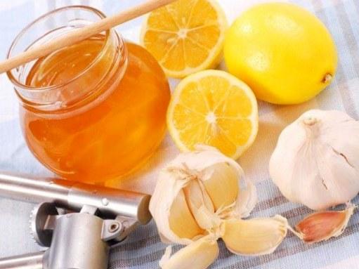 Чеснок с лимоном и мёдом для очистки организма