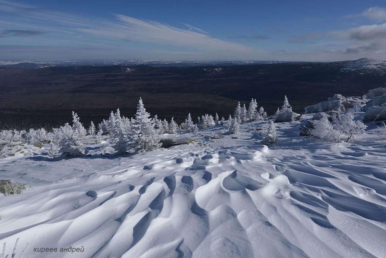 Таганай. В царстве снега и мороза.