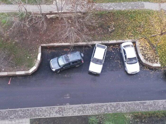 Без парктроника! Простой способ запарковать автомобиль впритык авто,автомобиль