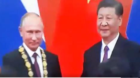 Путин первым среди глав государств получил китайский орден Дружбы