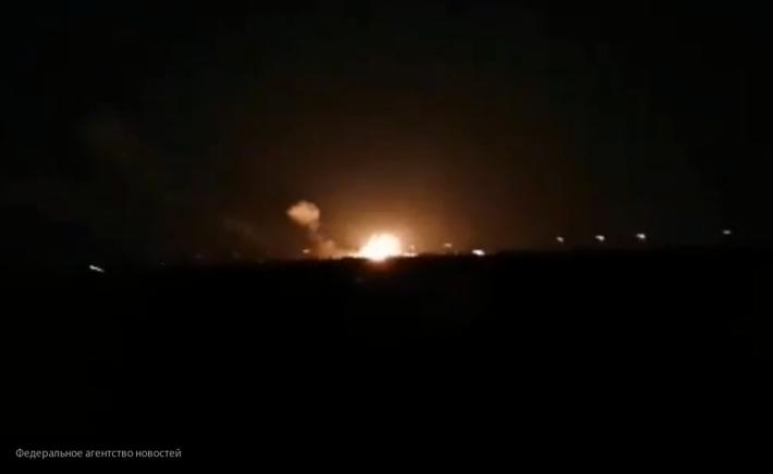 Системы ПВО Сирии отразили атаку Израиля
