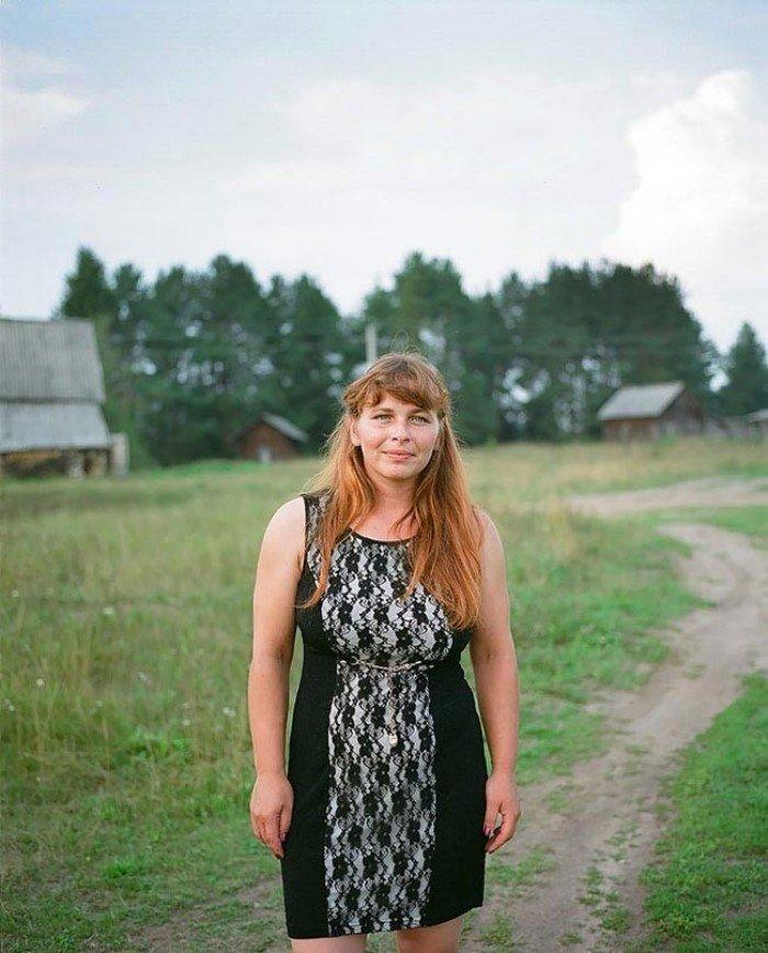 частные фотографии деревенских женщин