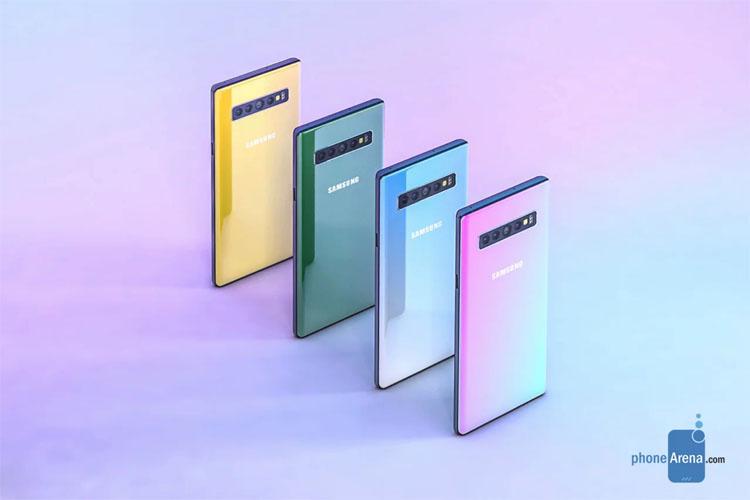 Samsung выпустит четыре варианта флагманского планшетофона Galaxy Note 10 новости,статья,устройство