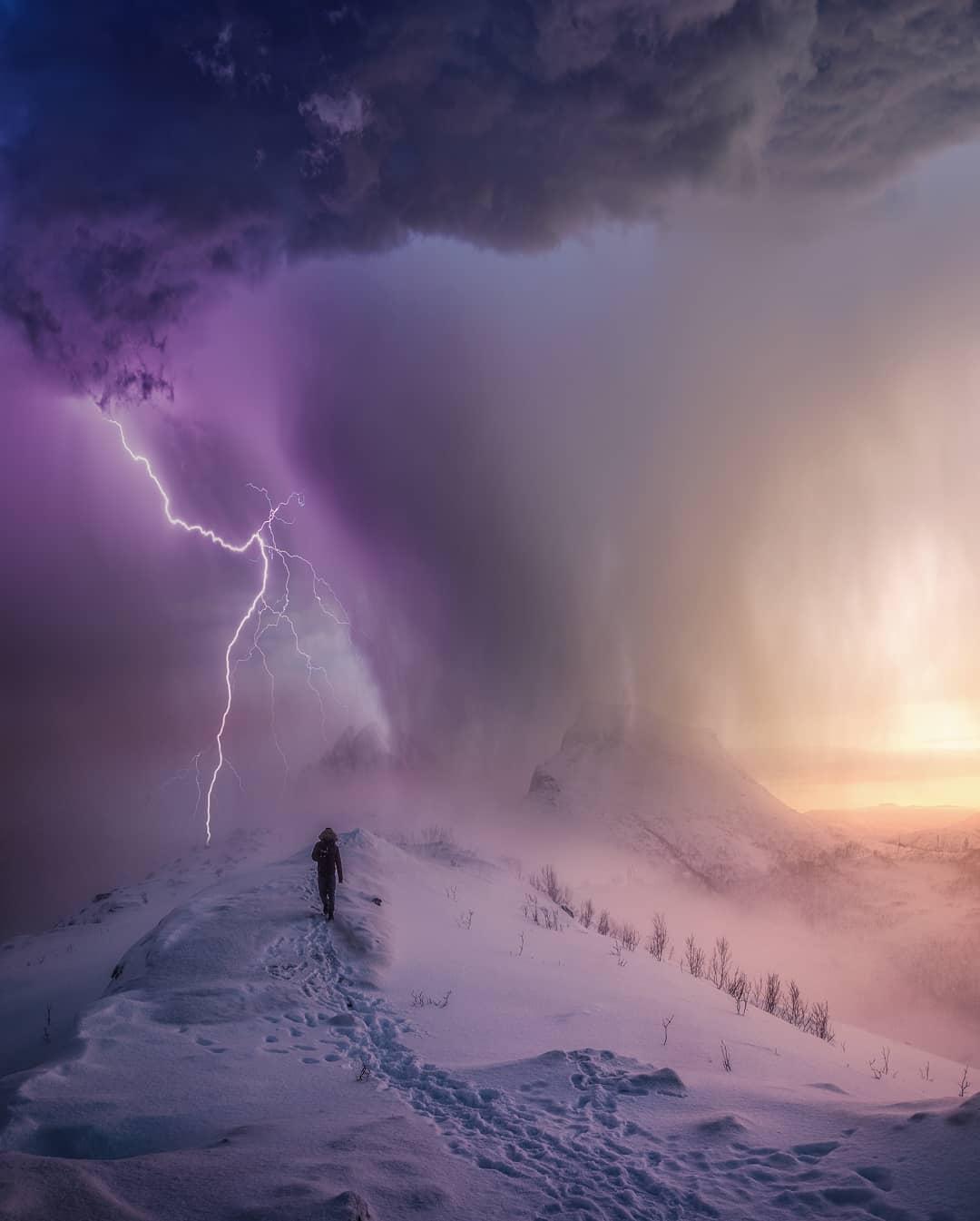 Блажен, кто посетил сей мир в его минуты роковые! гроза,тревел-фото,шторм