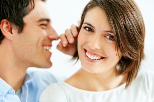 Женщины любят ушами