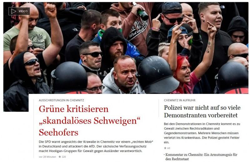 Германия проснулась