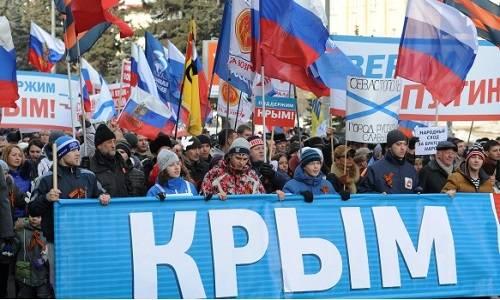 На моем веку Крым побывал в …