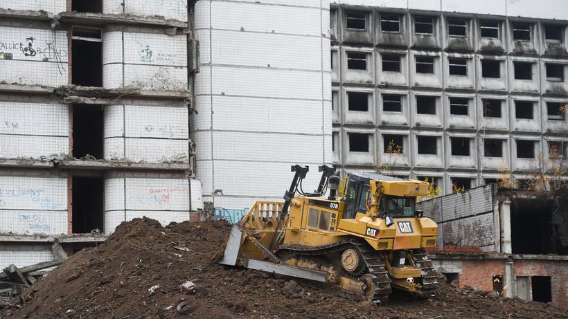 В столице приступили к активной фазе сноса Ховринской больницы