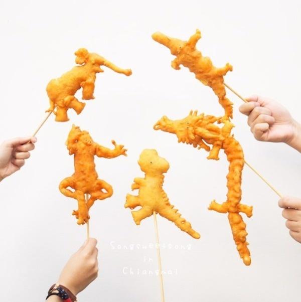 Animal-Shaped Chinese Donut
