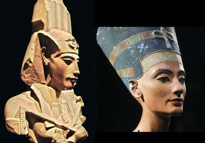 История любви фараона Аменхотепа и царицы Нефертити