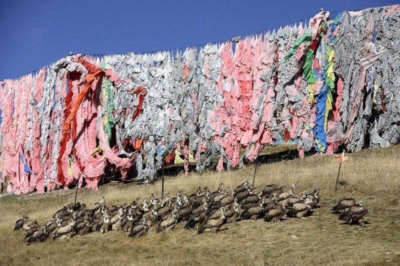 Небесное погребение: вот как в Тибете избавляются от трупов