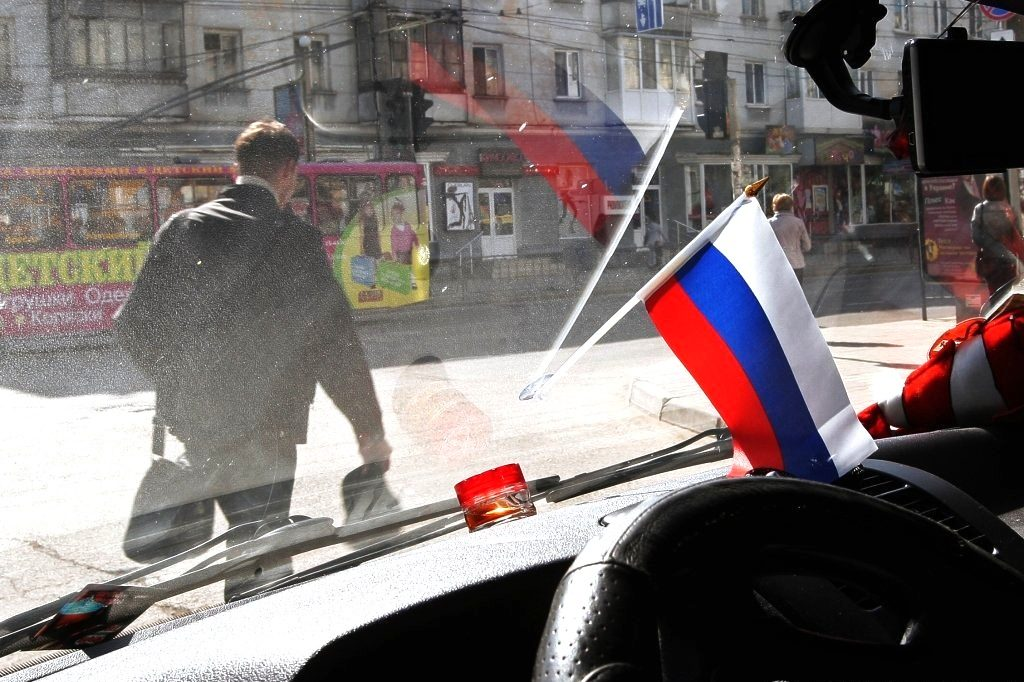 Украинку возмутил патриот РФ…