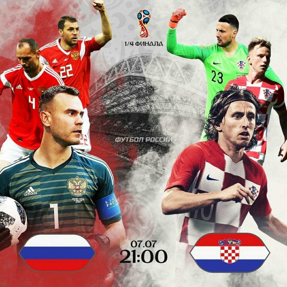 Как думаете, сборная России выиграет у Хорватии?