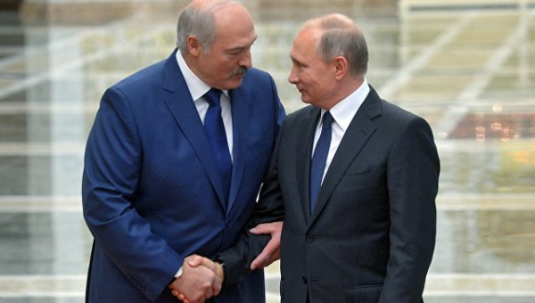 ВМинске ждут Путина