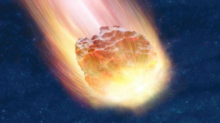 Куда упадёт метеорит?