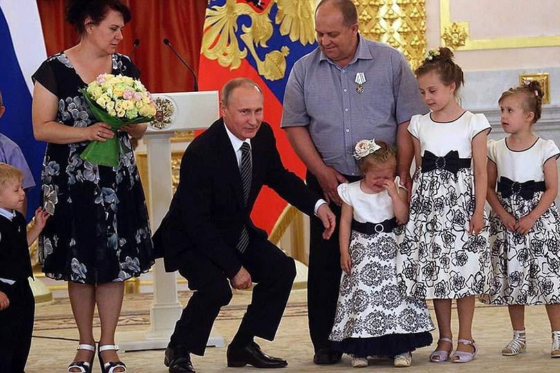 «Отец родной» россиянам и гр…