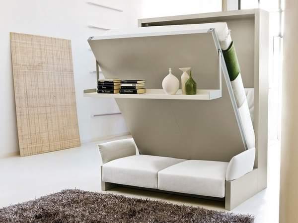 как расставить мебель в однокомнатной квартире, фото 15