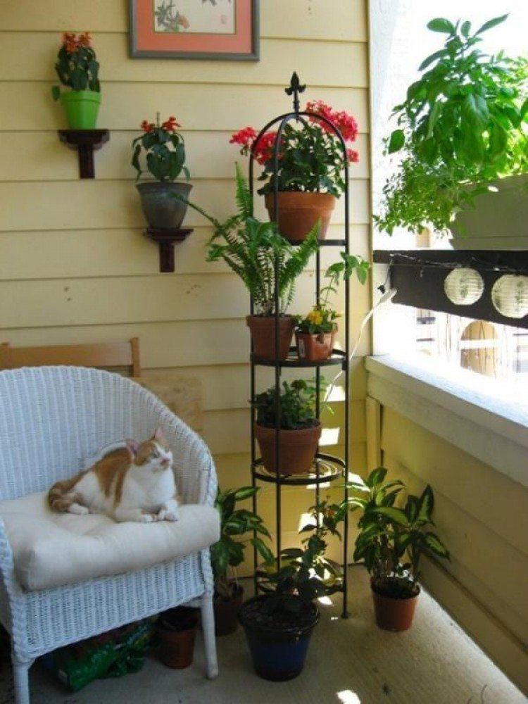 Картинки по запроÑу small balcony garden ideas