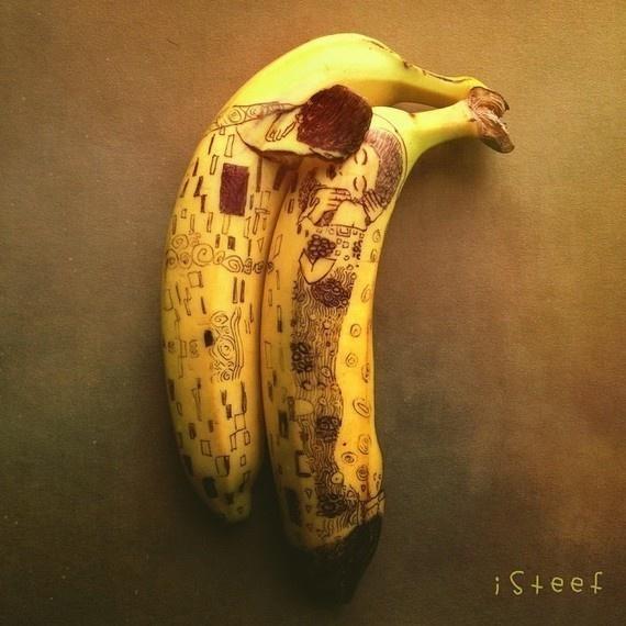 Gustav Klimt Meets Banana