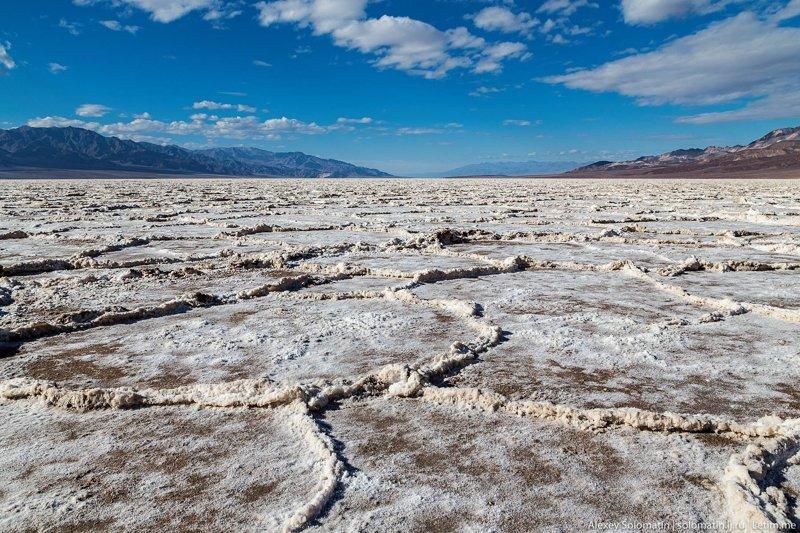 Долина Смерти. Самое жаркое место на нашей планете (25 фото)