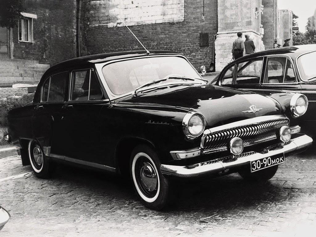 ГАЗ-23 – автомобиль для КГБ