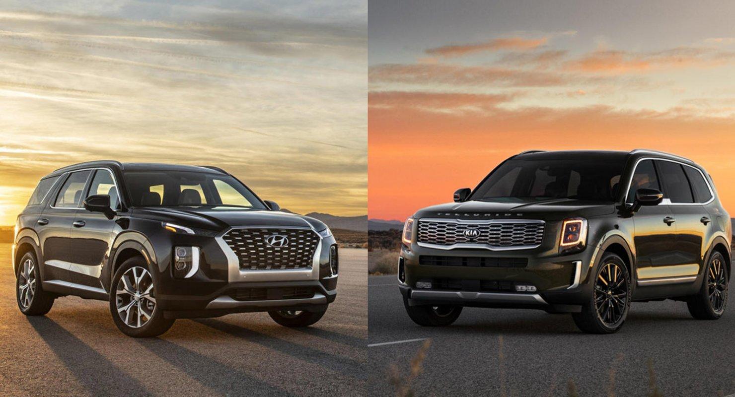 KIA Mohave и Hyundai Palisade — сравнение вместительных кроссоверов Автомобили