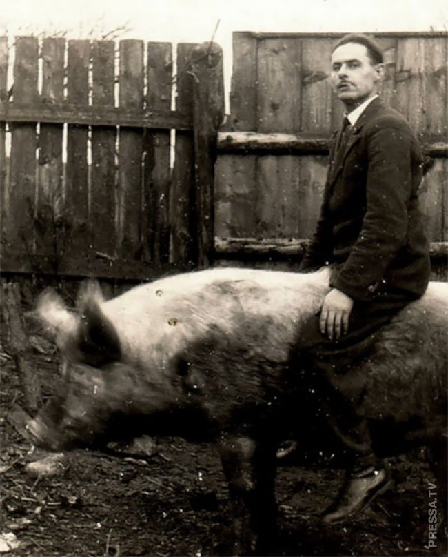 Странные уникальные фотографии начала 20 века
