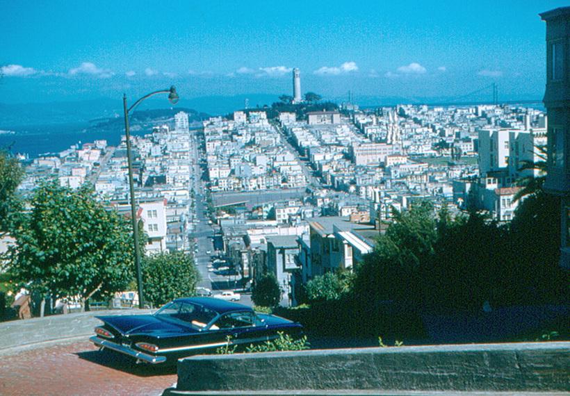 Романтичный Сан-Франциско 1950-х