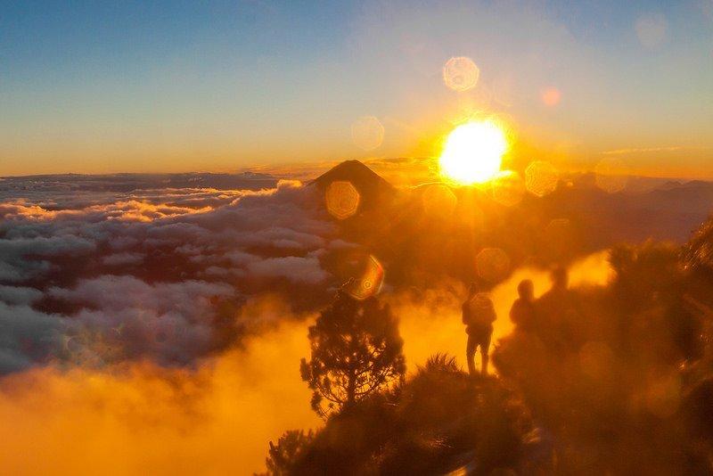 Гватемала. Поход на вулкан Акатенанго
